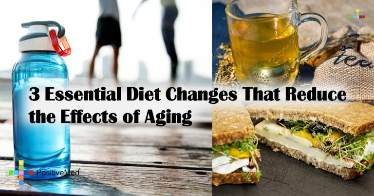 3 Essential Diet Changes That Reduce the Effects of Aging