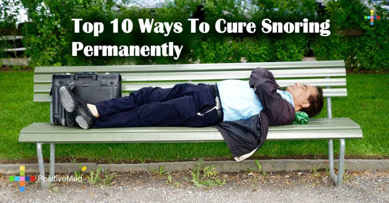 Top 10 Ways To Cure Snoring Permanently