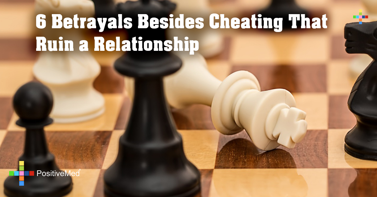 6 Betrayals Besides Cheating That Ruin a Relationship