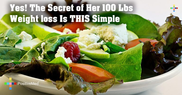 Yes! The Secret of Her 100 Lbs Weight loss Is THIS Simple