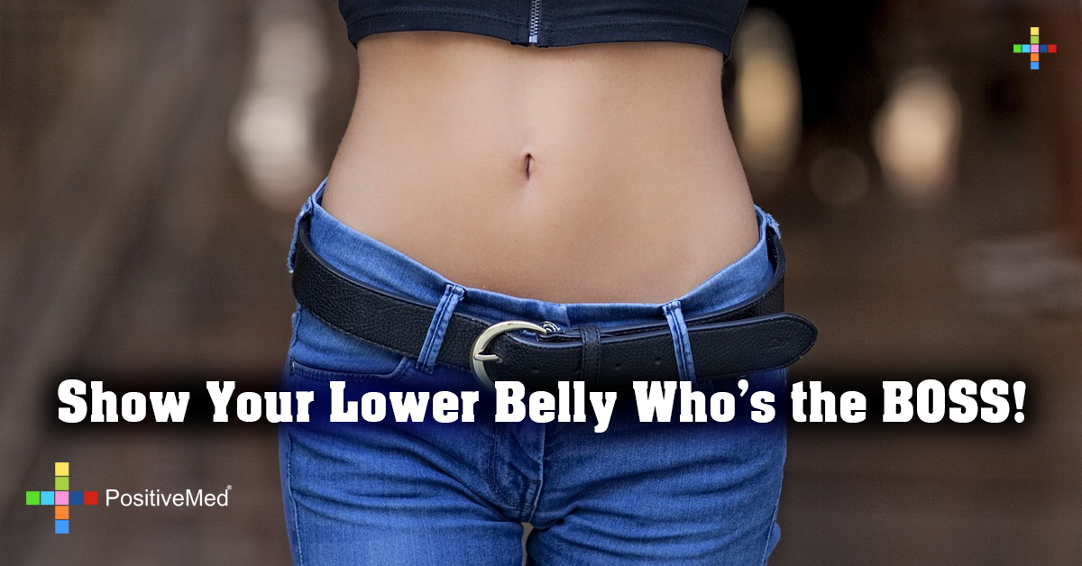 Show Your Lower Belly Who's the BOSS!