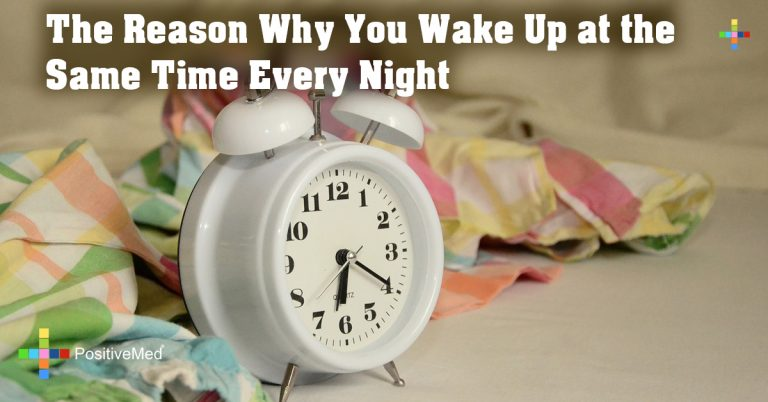 The Reason Why You Wake Up at the Same Time Every Night