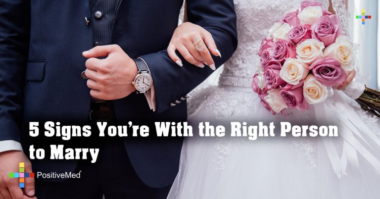 5 Signs You're With the Right Person to Marry
