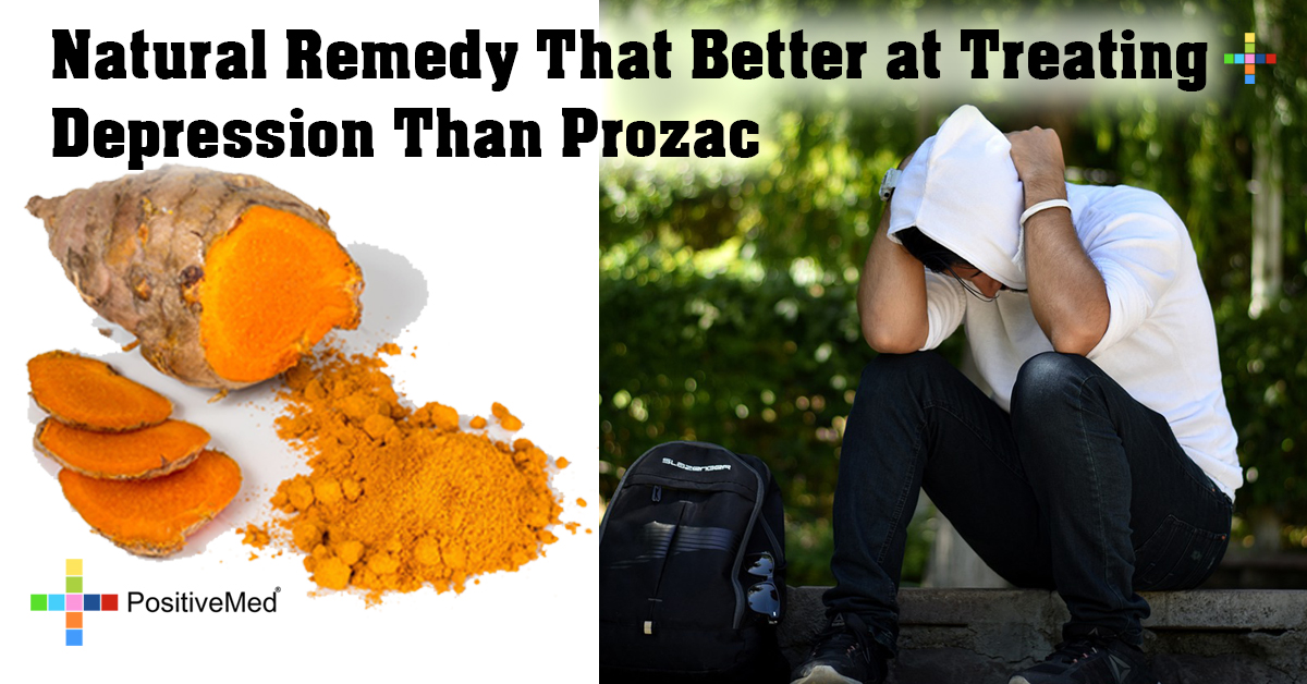 Natural Remedy That Better at Treating Depression Than Prozac