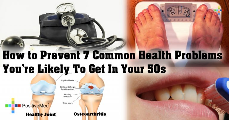 How to Prevent 7 Common Health Problems You're Likely To Get In Your 50s