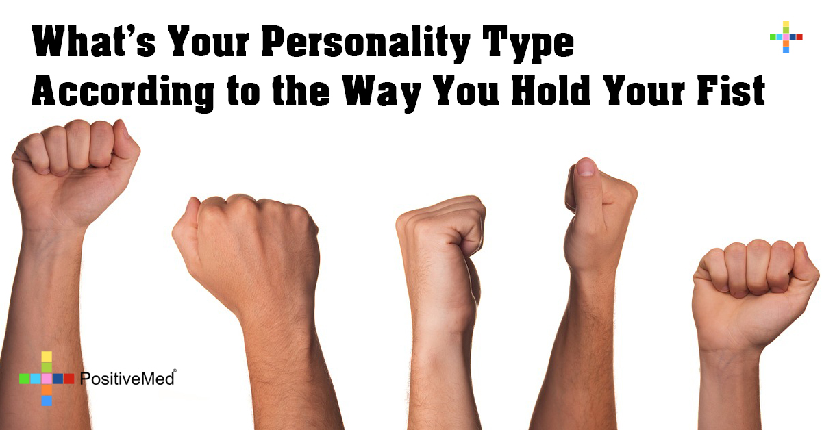 What's Your Personality Type According to the Way You Hold Your Fist