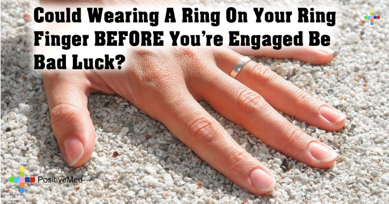 Could Wearing A Ring On Your Ring Finger BEFORE You're Engaged Be Bad Luck?
