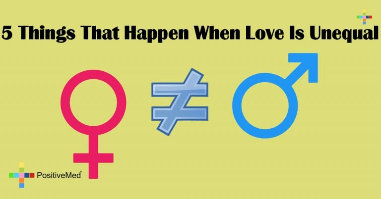 5 Things That Happen When Love Is Unequal