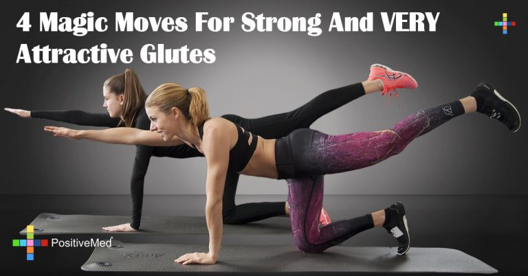 4 Magic Moves For Strong And VERY Attractive Glutes