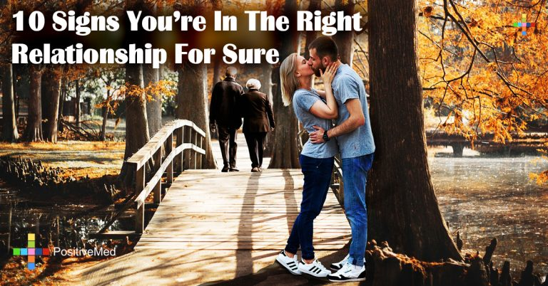 10 Signs You're In The Right Relationship For Sure