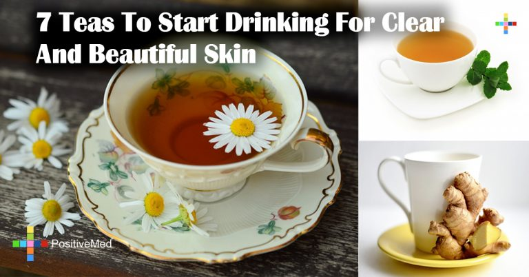 7 Teas To Start Drinking For Clear And Beautiful Skin