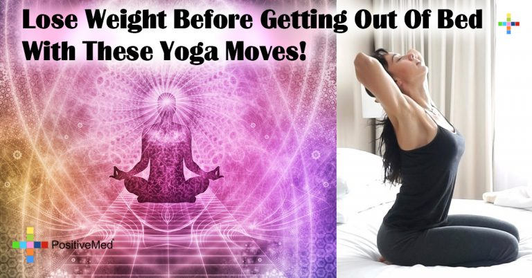 Lose Weight Before Getting Out Of Bed With These Yoga Moves!