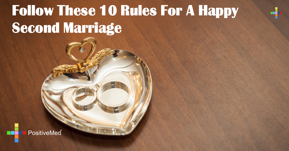 Follow These 10 Rules For A Happy Second Marriage