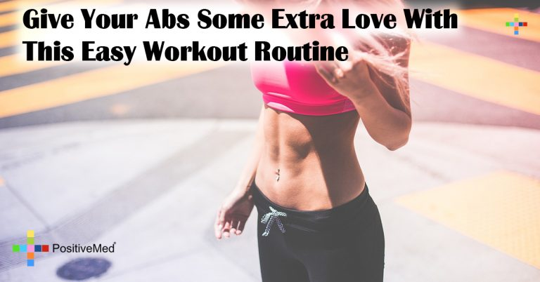 Give Your Abs Some Extra Love With This Easy Workout Routine