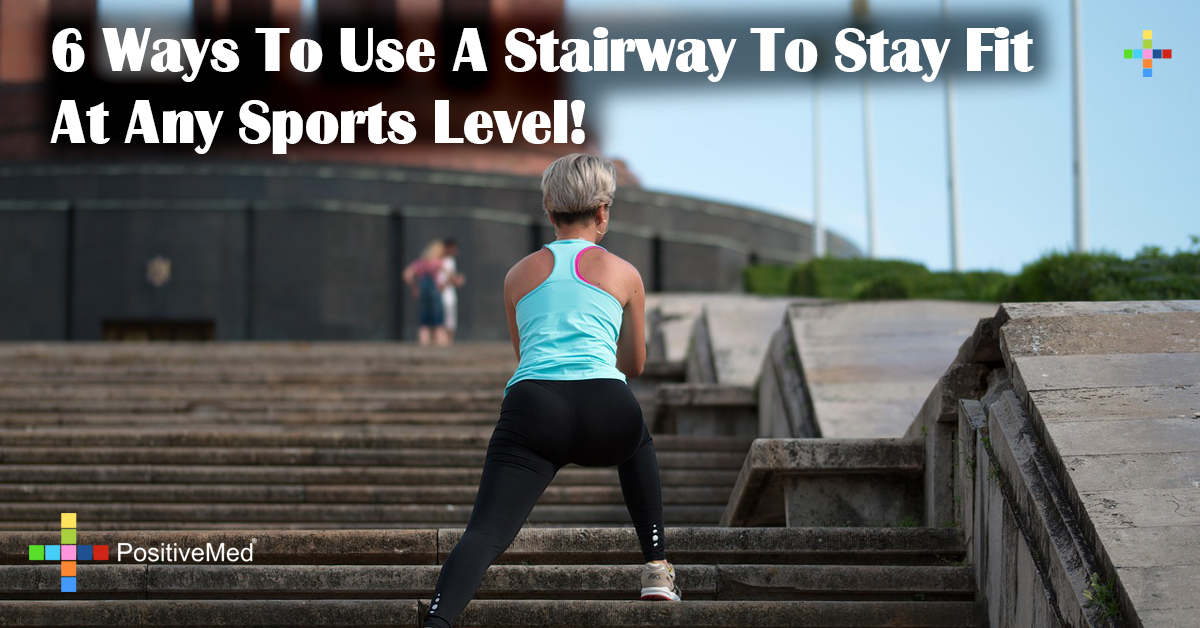 6 Ways To Use A Stairway To Stay Fit At Any Sports Level!