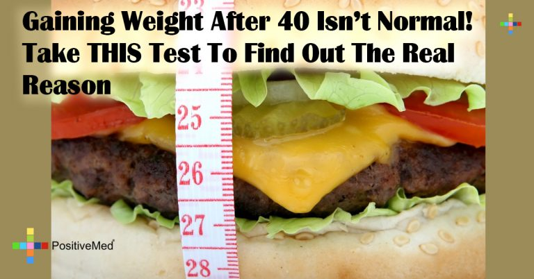Gaining Weight After 40 Isn't Normal! Take THIS Test To Find Out The Real Reason