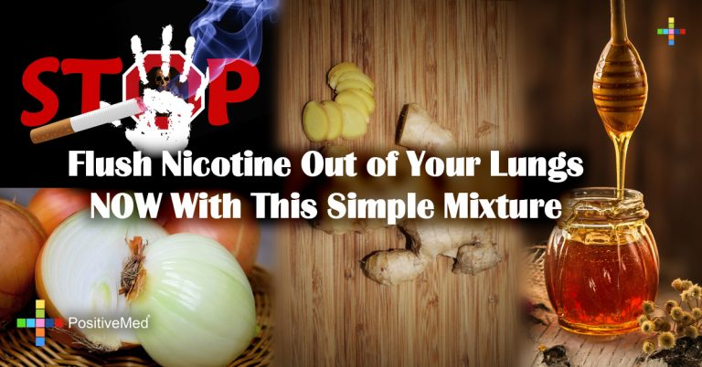 Flush Nicotine Out of Your Lungs NOW With This Simple Mixture
