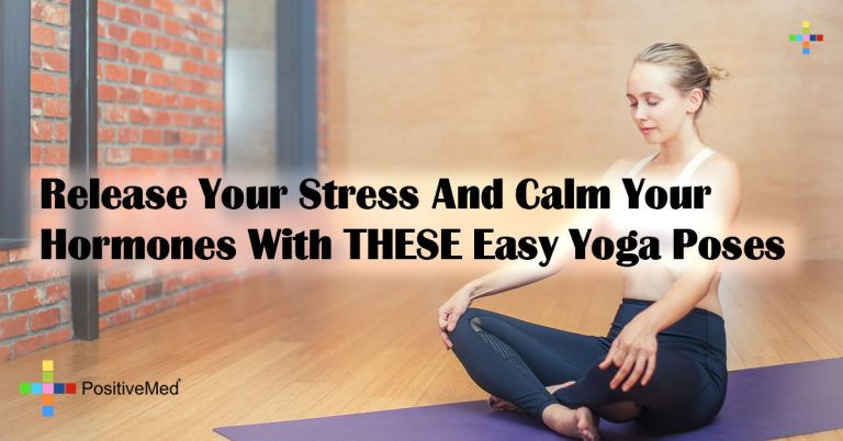 Release Your Stress And Calm Your Hormones With THESE Easy Yoga Poses