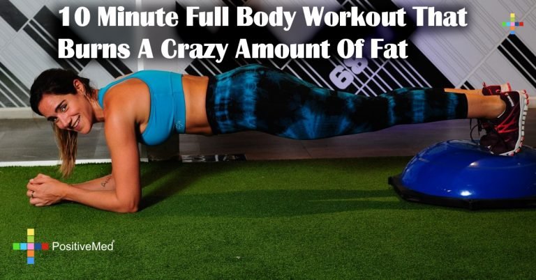 10 Minute Full Body Workout That Burns A Crazy Amount Of Fat