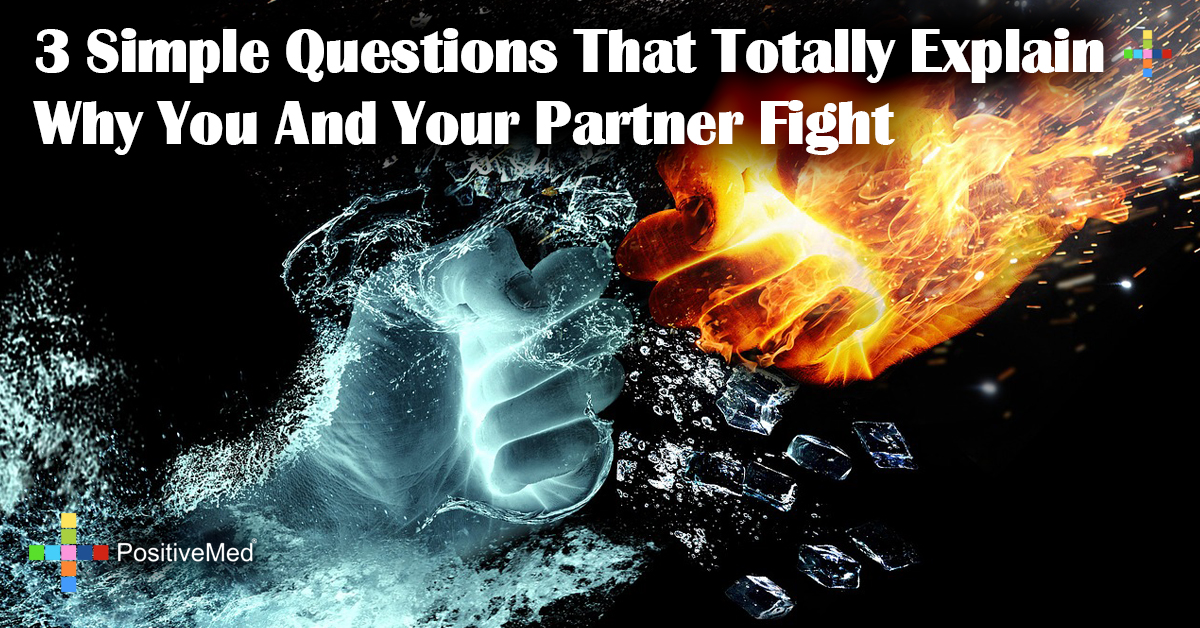 3 Simple Questions That Totally Explain Why You And Your Partner Fight