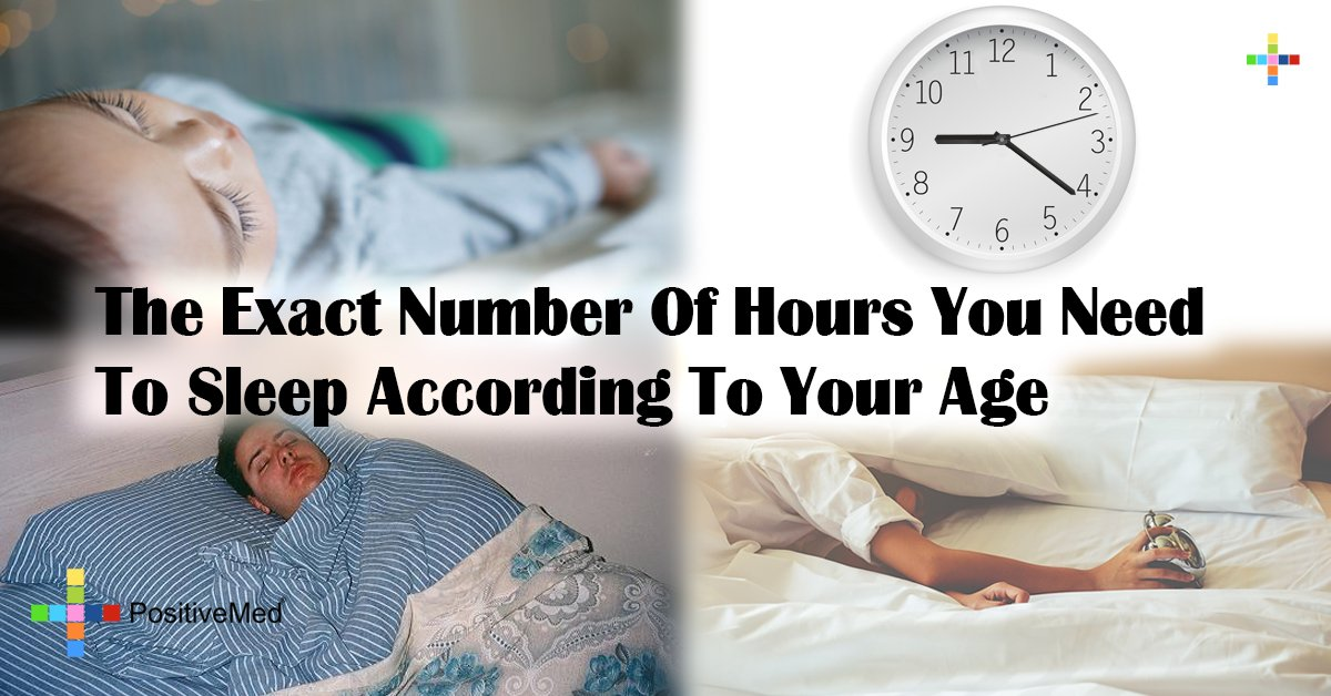 The Exact Number Of Hours You Need To Sleep According To Your Age