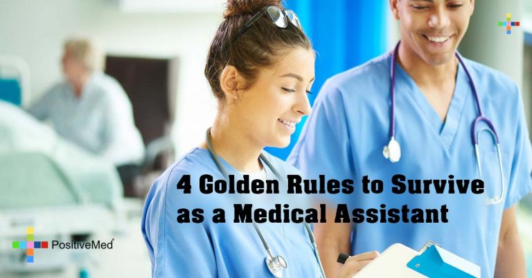 4 Golden Rules to Survive as a Medical Assistant