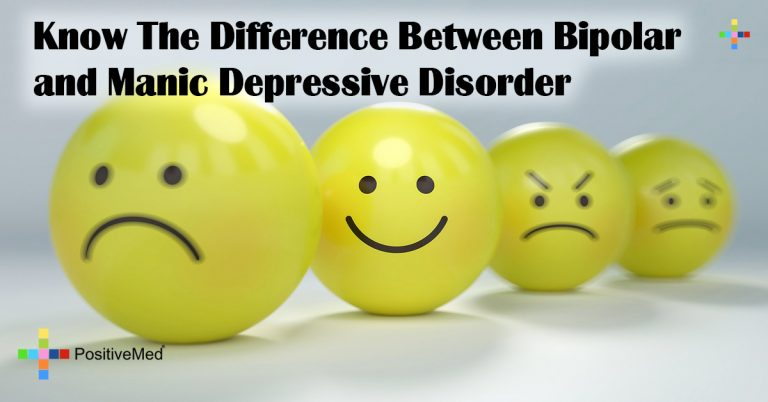 Know The Difference Between Bipolar and Manic Depressive Disorder