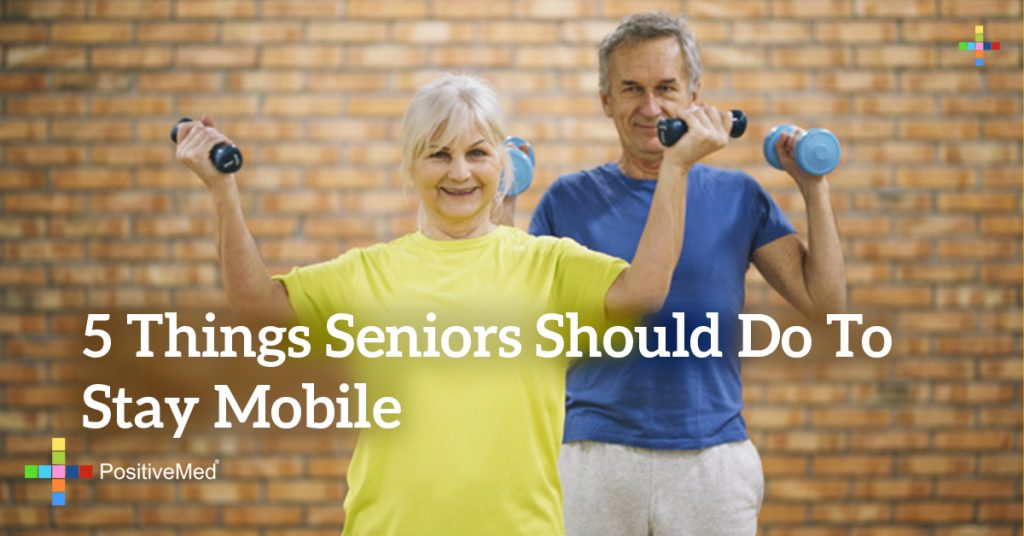 5 Things Seniors Should Do To Stay Mobile