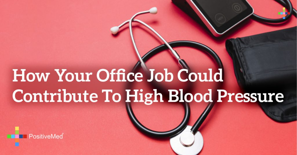 How Your Office Job Could Contribute to High Blood Pressure
