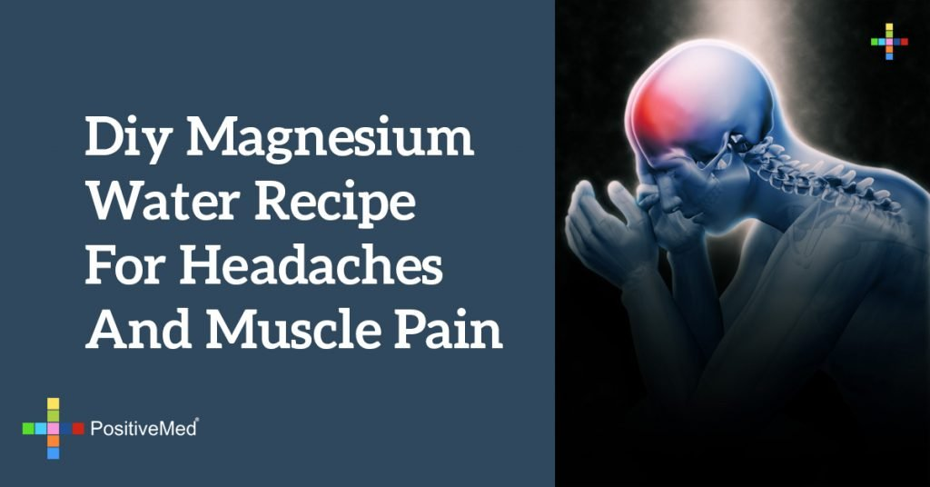 DIY Magnesium Water Recipe for Headaches and Muscle Pain