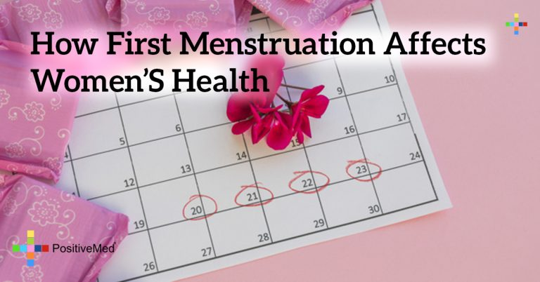 How First Menstruation Affects Women's Health