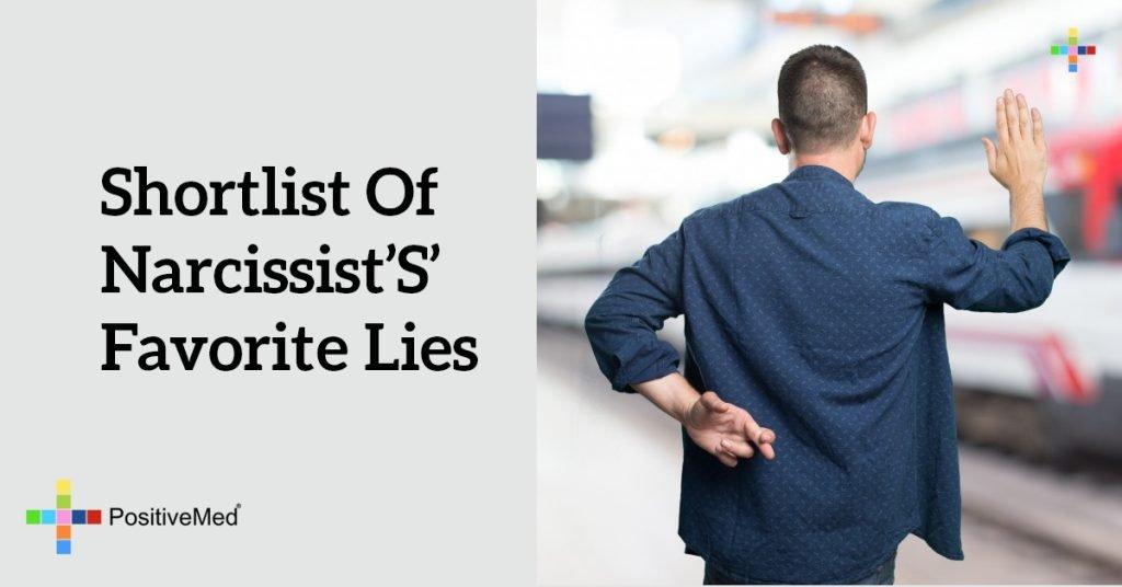 Shortlist of Narcissist's' Favorite Lies