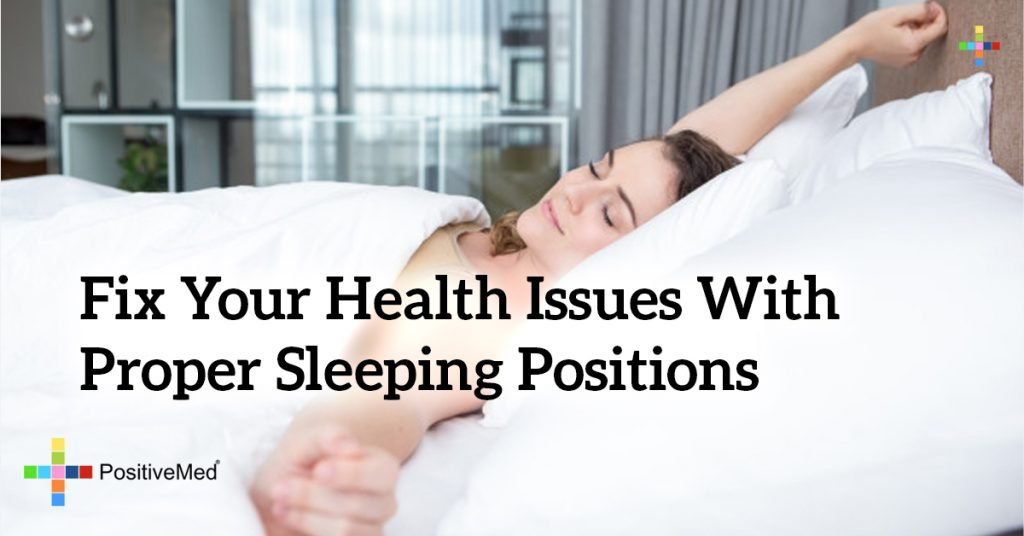 Fix Your Health Issues With Proper Sleeping Positions