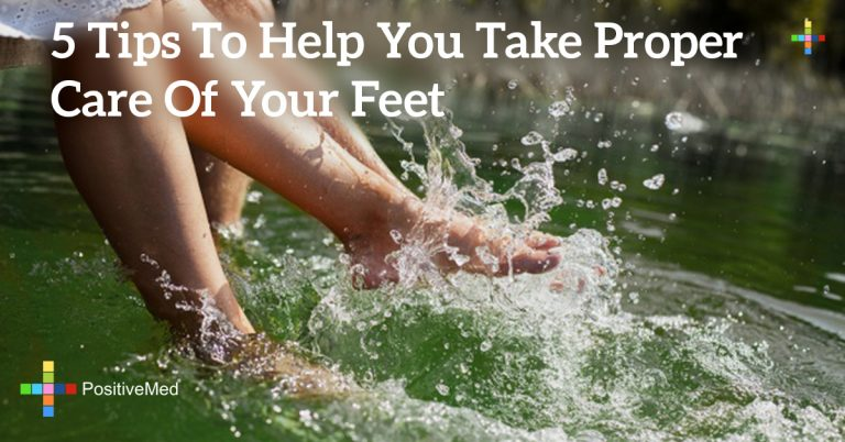 5 Tips To Help You Take Proper Care Of Your Feet