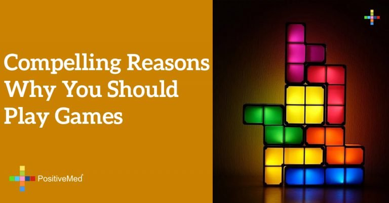 Compelling Reasons Why You Should Play Games