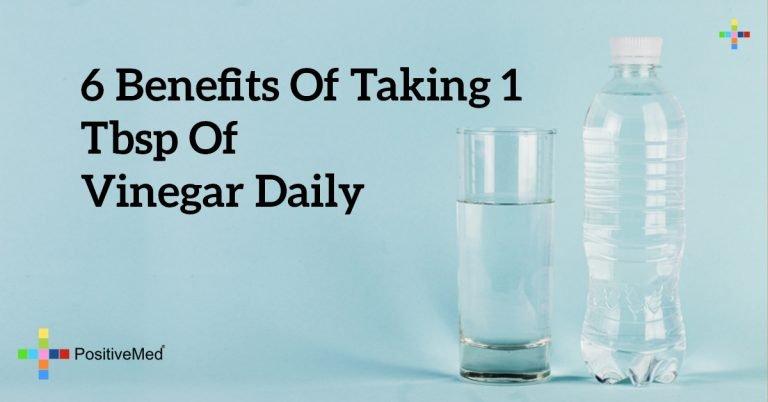 6 Benefits of Taking 1 Tbsp of Vinegar Daily