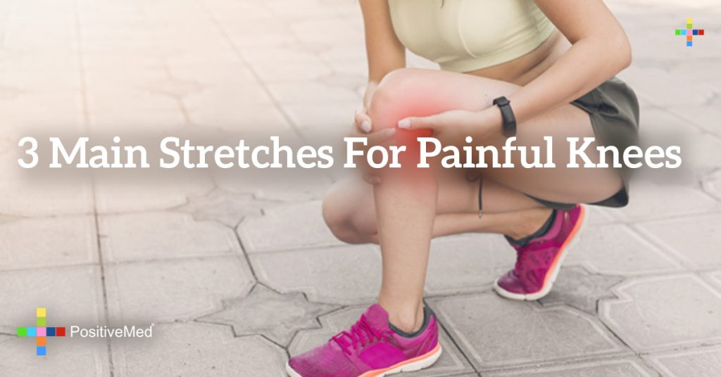 3 Main Stretches for Painful Knees