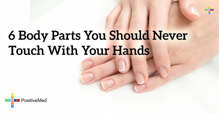 6 Body Parts You Should Never Touch With Your Hands