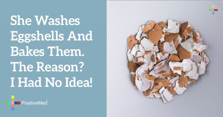 She Washes Eggshells and Bakes Them. The Reason? I Had No Idea!