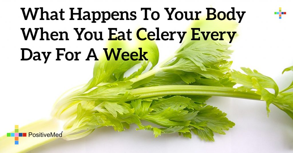 What Happens to Your Body When You Eat Celery Every Day For A Week