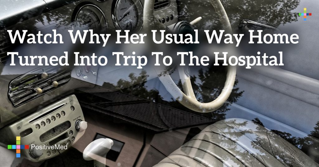 Watch Why Her Usual Way Home Turned Into Trip to the Hospital