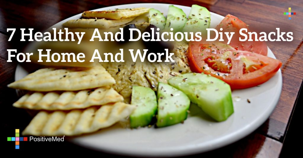 7 Healthy and Delicious DIY Snacks for Home and Work