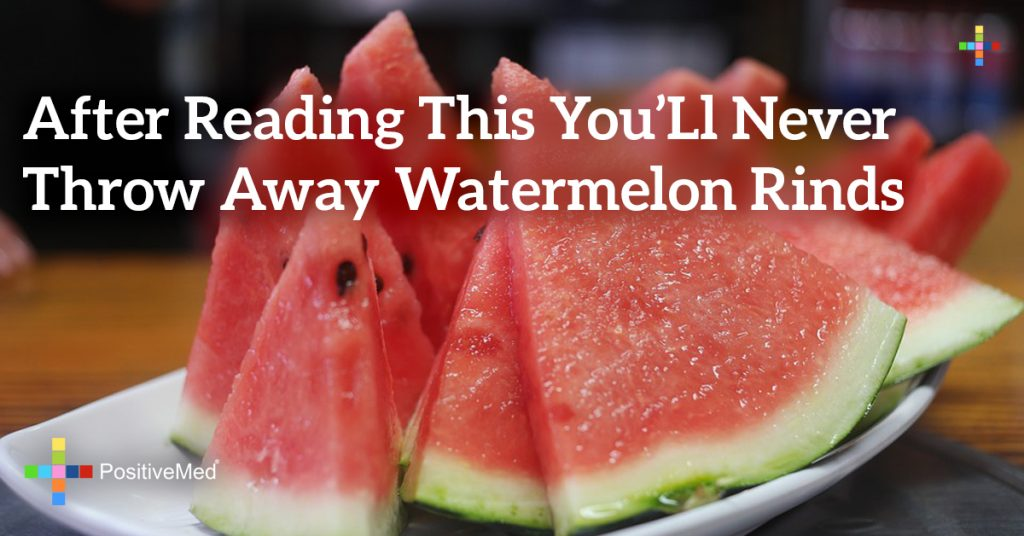 After Reading This You'll Never Throw Away Watermelon Rinds