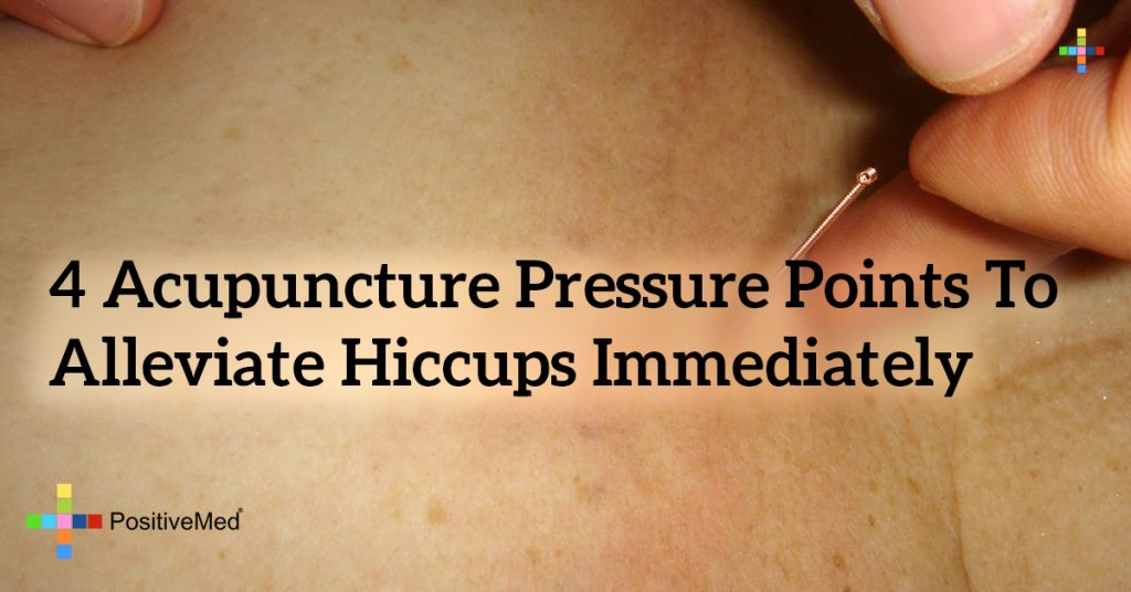 4 Acupuncture Pressure Points to Alleviate Hiccups Immediately