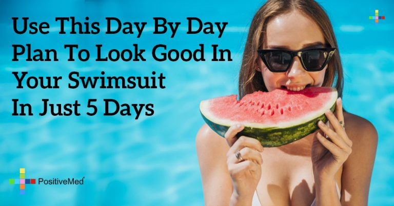 Use This Day by Day Plan to Look Good in Your Swimsuit in Just 5 Days