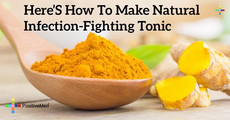 Here's How to Make Natural Infection-Fighting Tonic