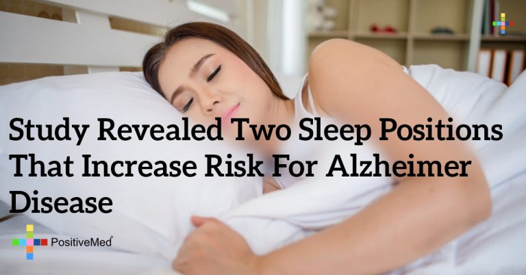 Study Revealed Two Sleep Positions That Increase Risk for Alzheimer Disease