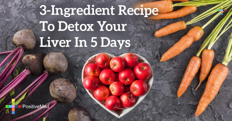 3-Ingredient Recipe to Detox Your Liver in 5 Days