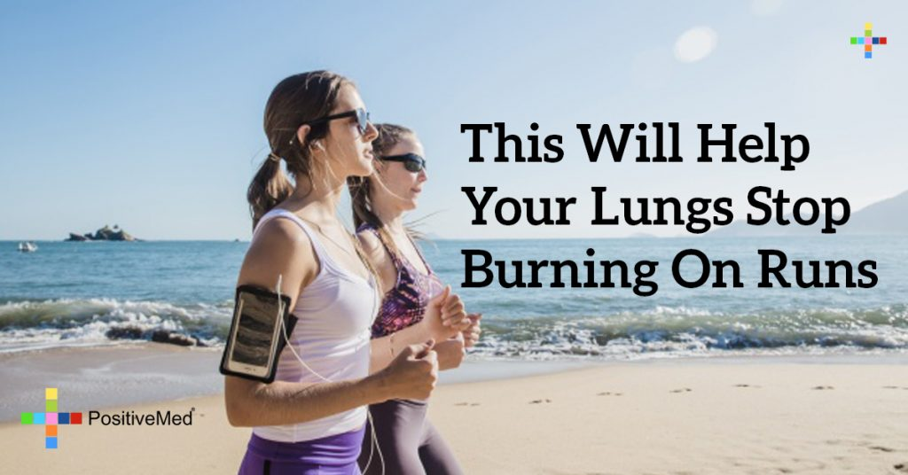 THIS Will Help Your Lungs Stop Burning on Runs