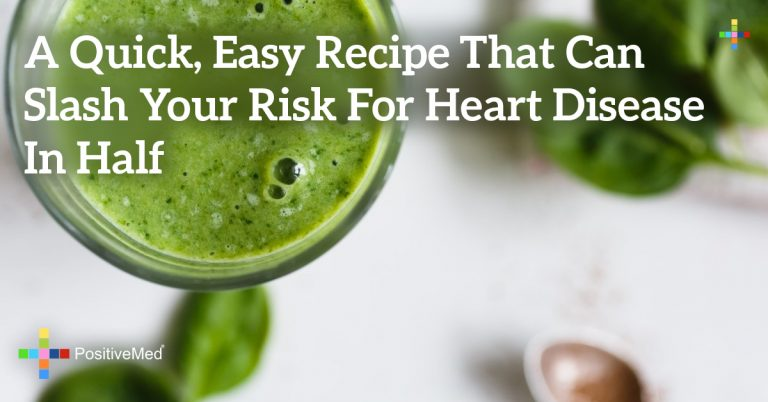 A Quick, Easy Recipe That Can Slash Your Risk for Heart Disease in Half